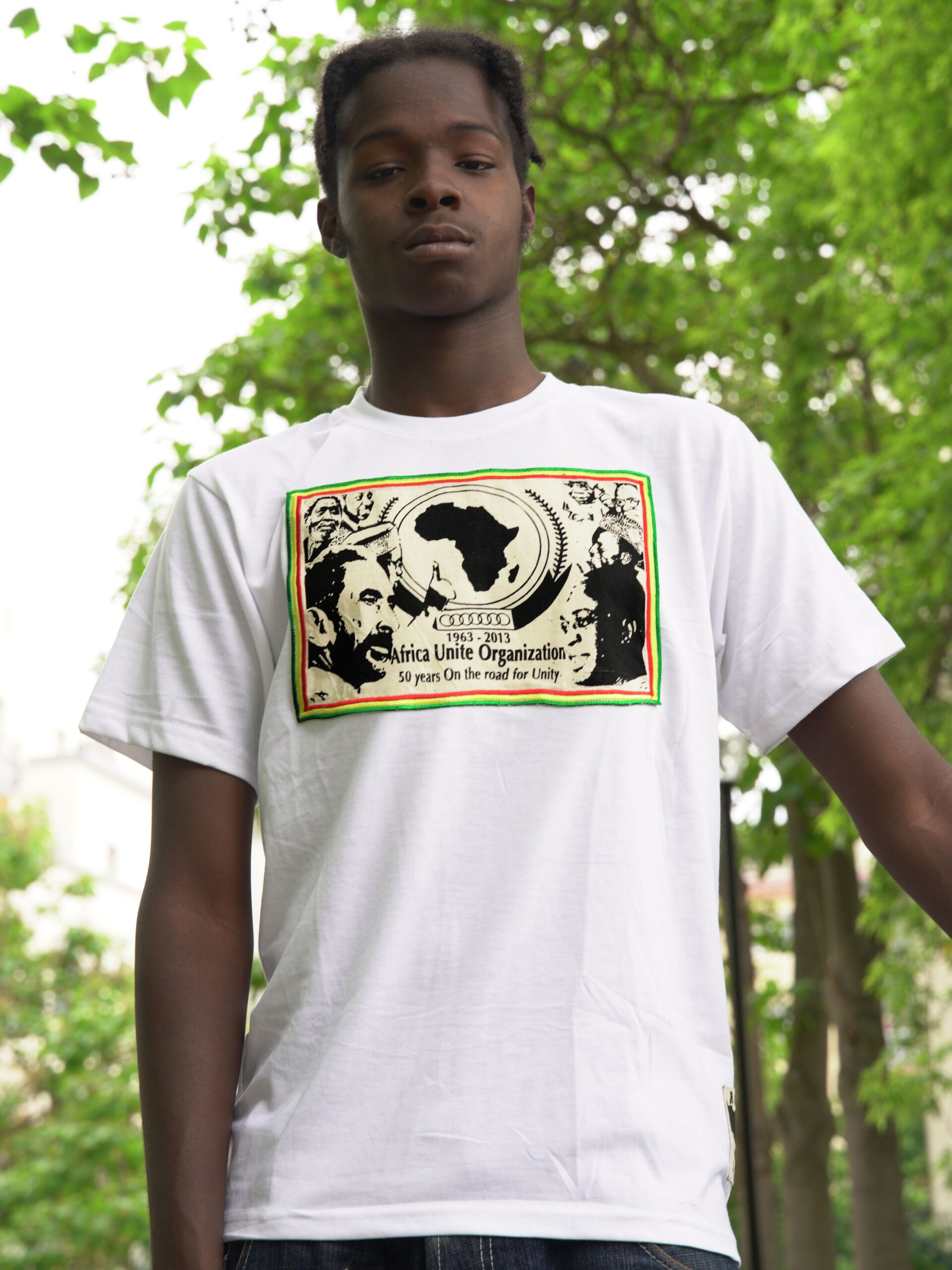 T.Shirt OUA -blanc-XXL