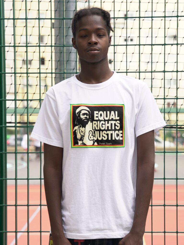 T.Shirt Peter Tosh -blanc-XL