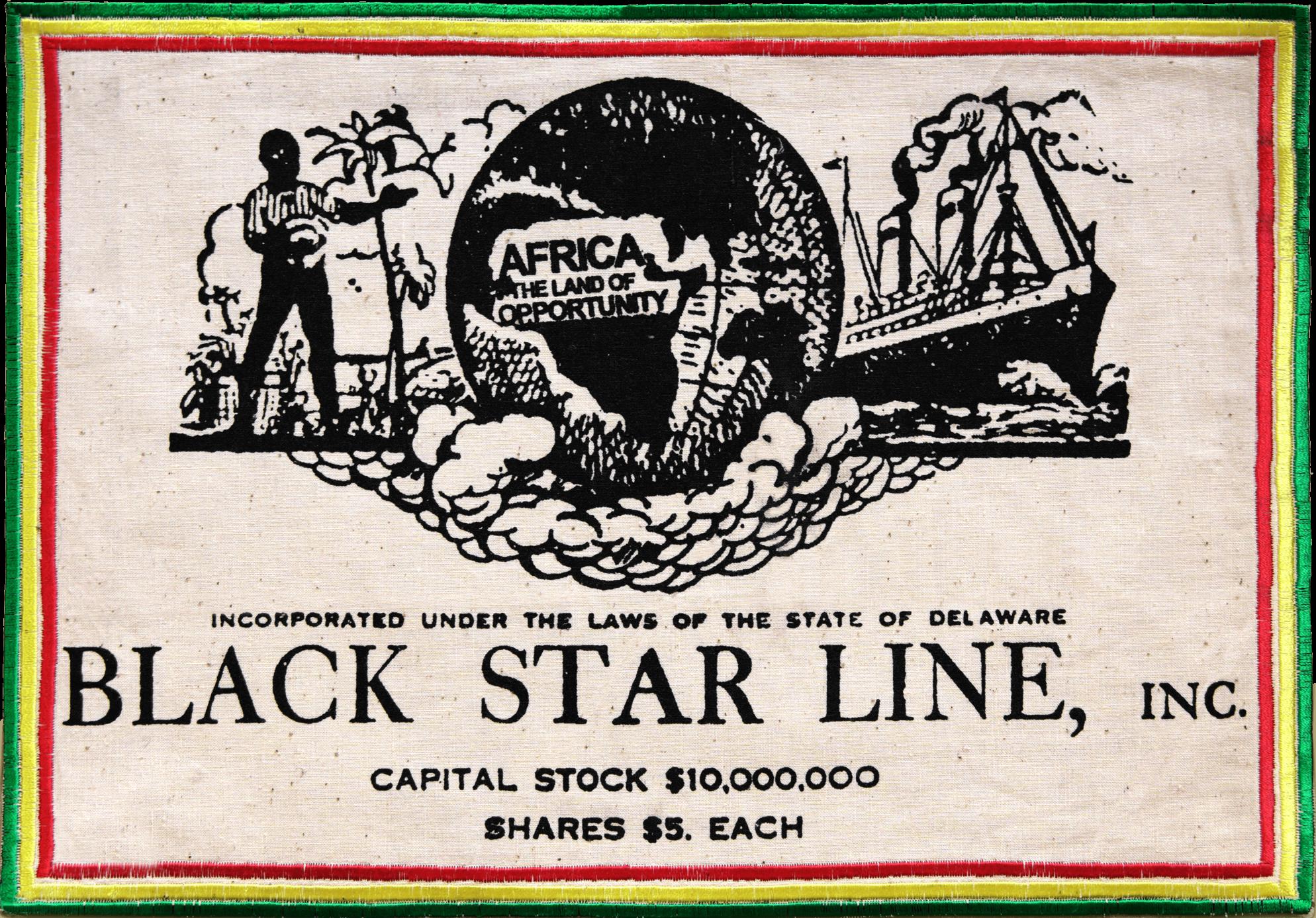 écusson Black Star Line