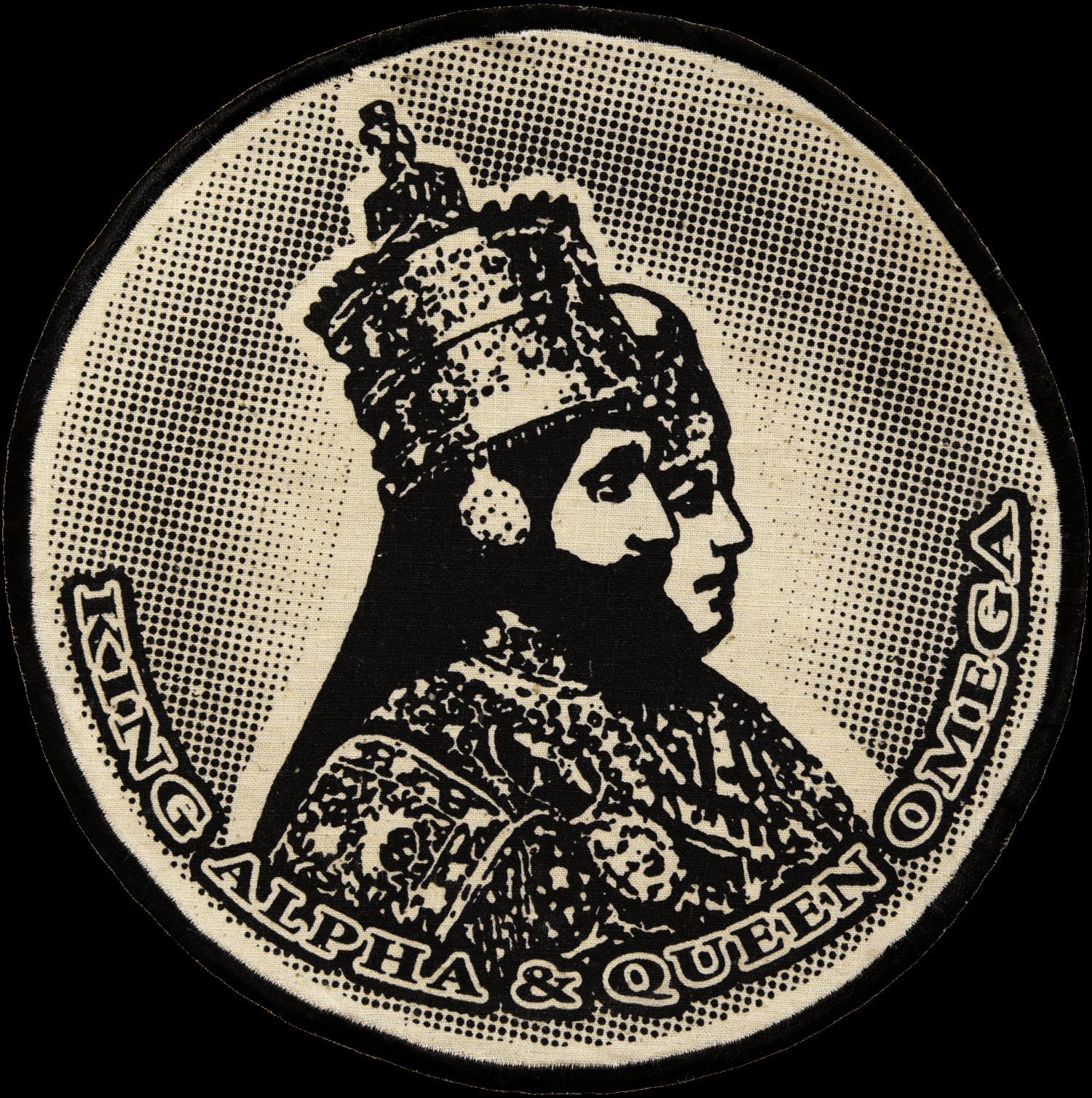 Patch Écusson King & Queen -Noir