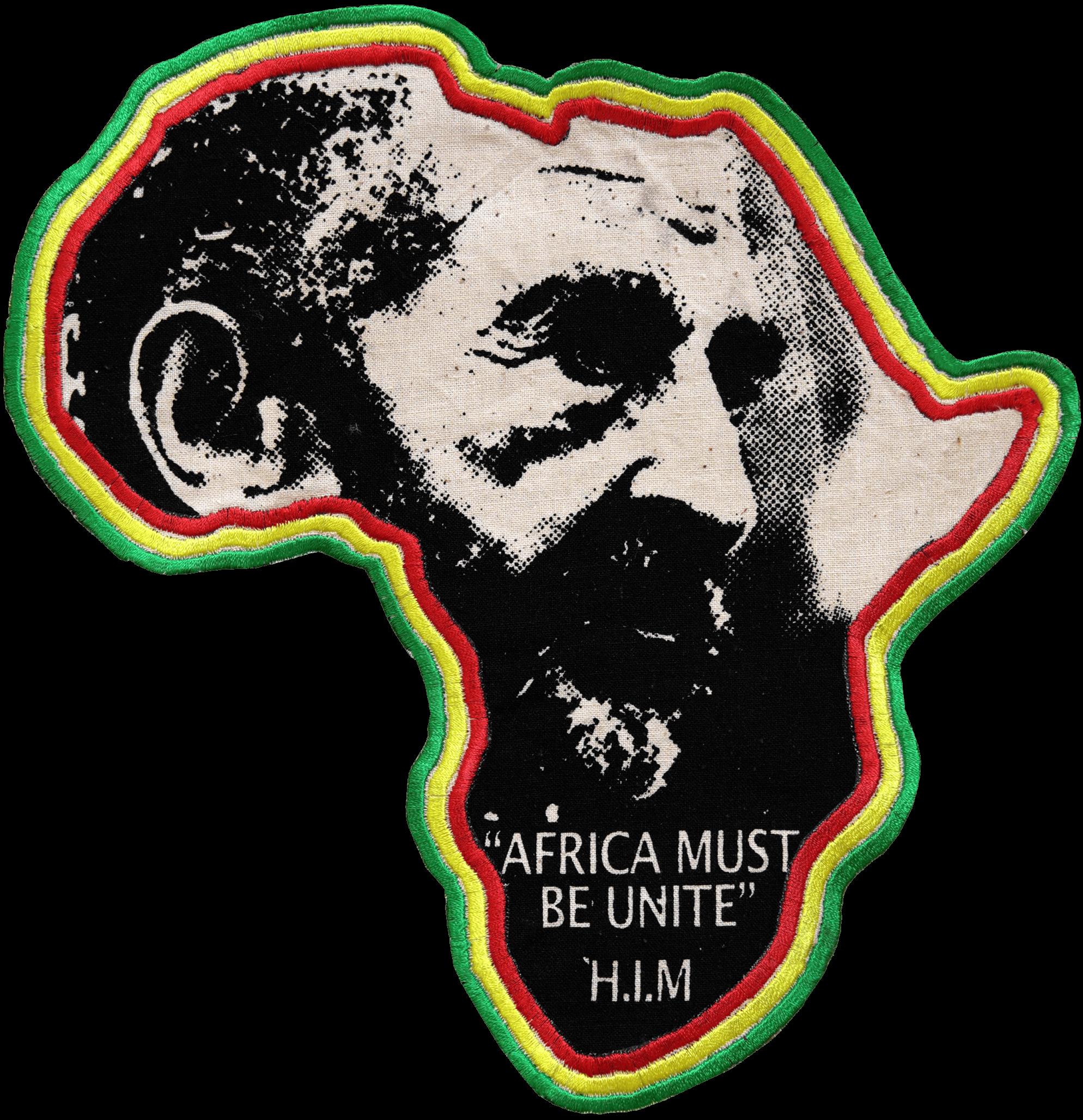 Ecusson Africa Must Be Unite