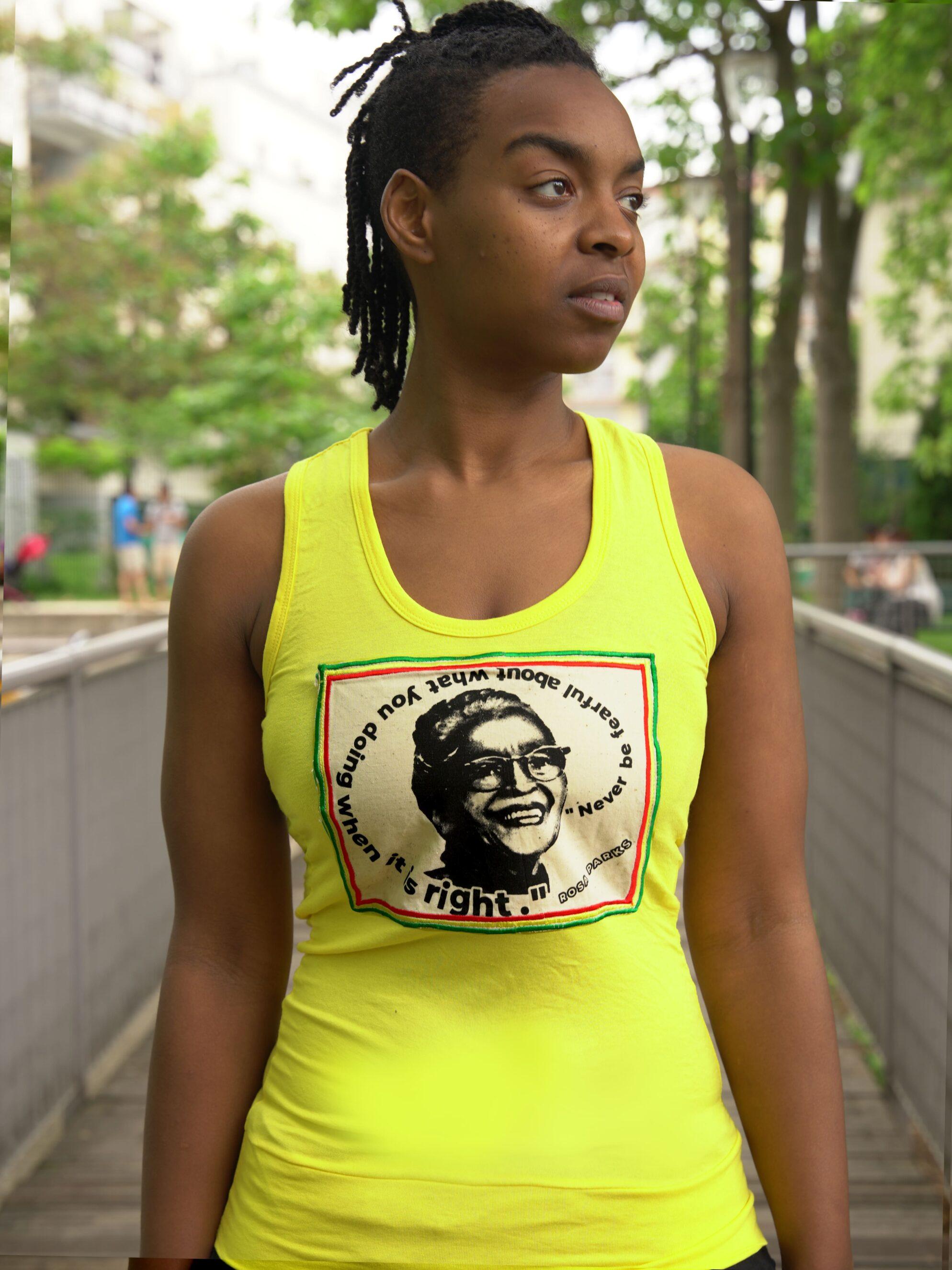 Débardeur Rosa Parks -jaune