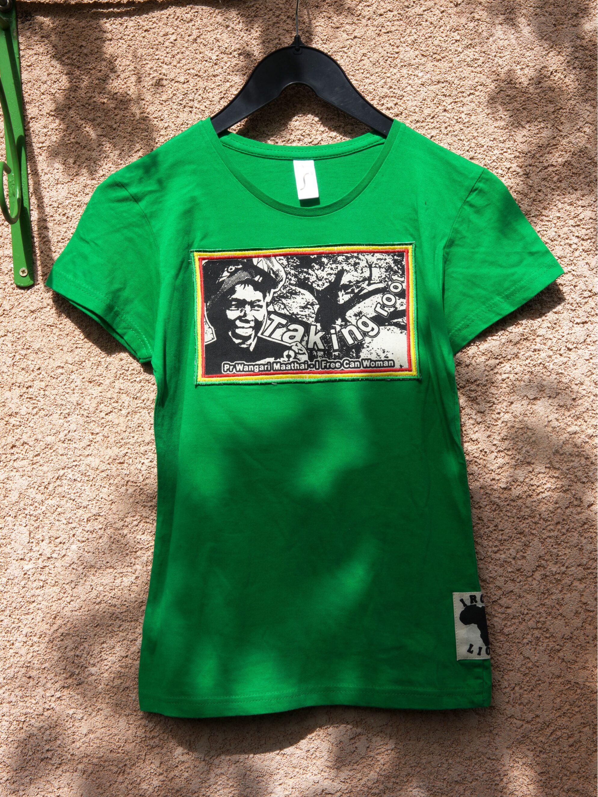 T.Shirt Femme Wangari Maathai -vert
