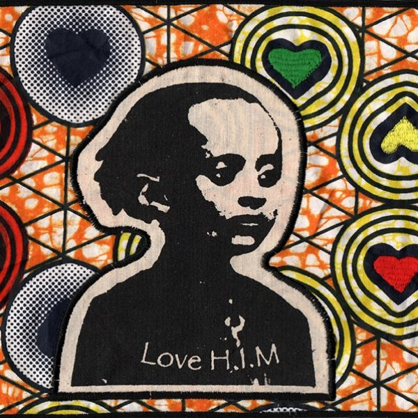 Patch Wax Love HIM -coeur