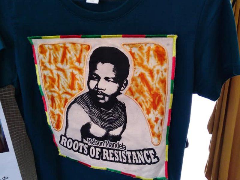 T.Shirt- wax Nelson Mandela